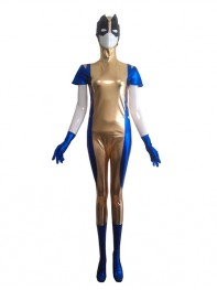 Wolverine X-men Shiny Metallic Superhero Costume