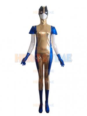 Wolverine X-men Shiny Metallic Superhero Costume