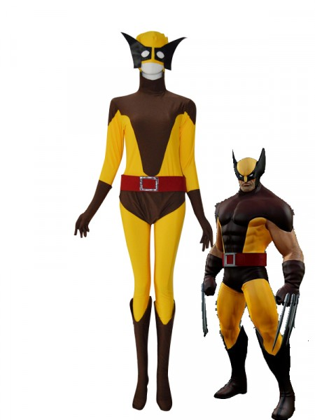 sc 1 st  Herostime.com & Wolverine X-men Yellow u0026 Brown Superhero Costume