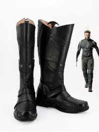 X-men Wolverine Black Mens Superhero Cosplay Boots