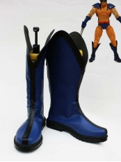X-men Wolverine Sideshow Blue Version Cosplay Boots