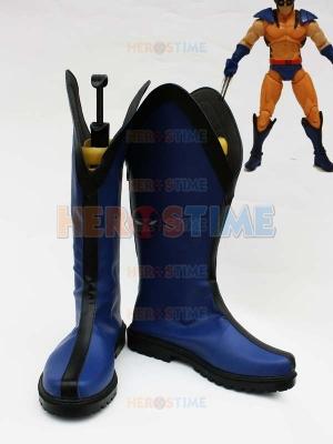 X-men Wolverine Sideshow Blue Version Cosplay Boots