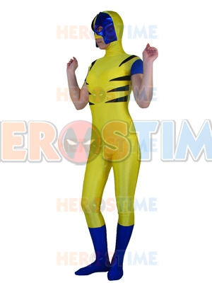 X-men Wolverine Spandex Superhero Costume