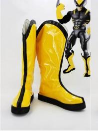 X-men Wolverine Yellow Version Superhero Cosplay Boots