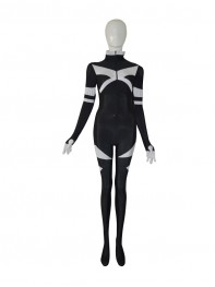 X-men Black & White Custom Superhero Costume