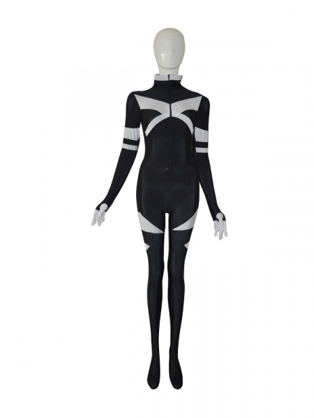 X-men Black u0026 White Custom Superhero Costume  sc 1 st  Herostime.com & X-men Superhero Costumes