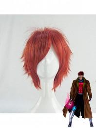 X-men Gambit Red Short Wig