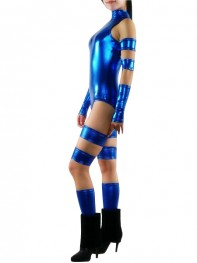 Psylocke X-men Female Shiny Superhero Costume