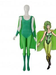X-men Polaris Lorna Dane Female Superhero Costume