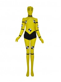 Yellow X-men Custom Superhero Animal Costume