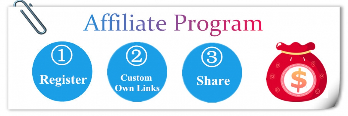 Become the  Affiliate to get money