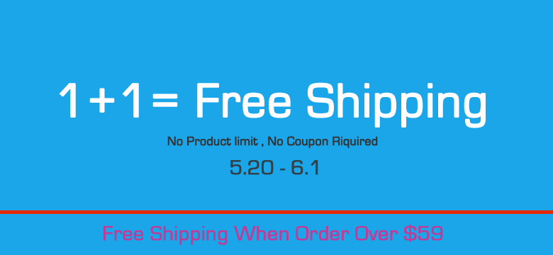 Free Shipping When Order Over $59