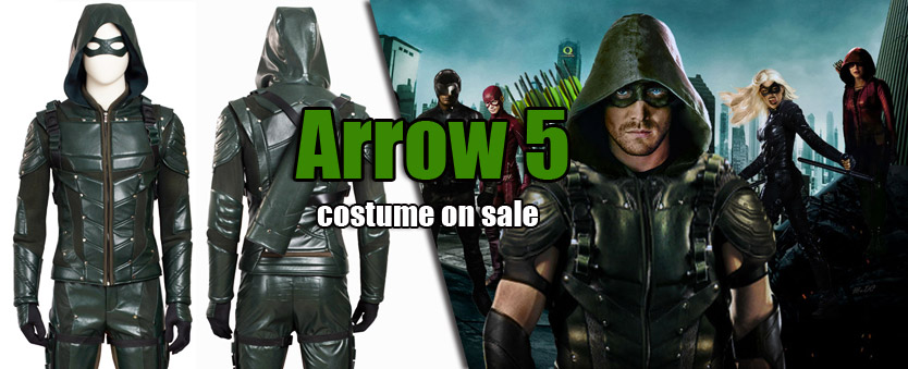 Arrow 5 Cosplay Costume