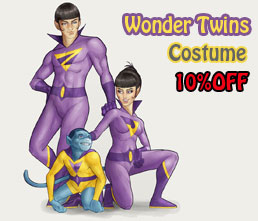 Wonder Twins costumes