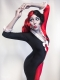 The New 52 Newest Product Harley Quinn Spandex Cosplay Costume / Pyjama