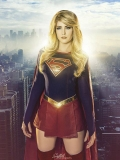 Supergirl Kara DC Comics Superhero Cosplay Costume