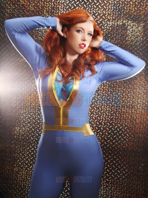 Custom Made Fallout 4 Vault Game Character Spandex Suit
