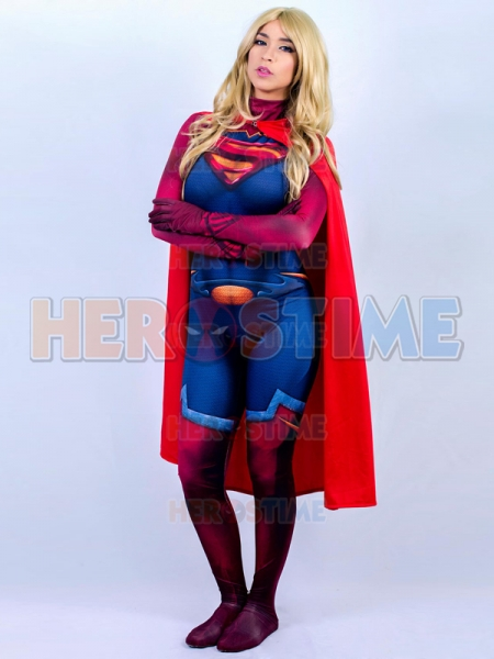 sc 1 st  Herostime.com & Supergirl Costume Man Of Steel Super Girl Cosplay Suit