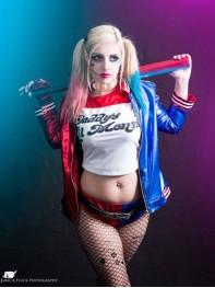 NEW movie Suicide Squad Harley Quinn Cosplay Costume Female Superhero Costume