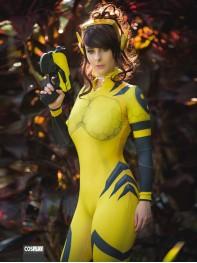 Ready-To-Ship B.Va Costume D.Va Legendary Skin Overwatch Cosplay Suit