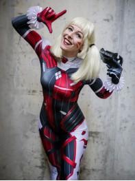 Harley D.VA Classic Harley Quinn Design Cosplay Costume