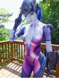 2018 Newest Widowmaker Costume Video Game Overwatch Girl Cosplay Costume