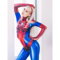 MJ Jamie Spider Costume Mary Jane Girl Cosplay Suit