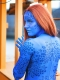 X-men Film Mystique 3D Print Cosplay Costume