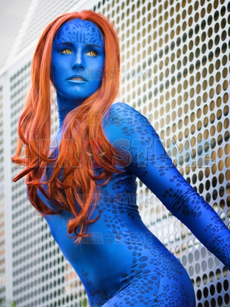 X-men Mystique Costume 3D Print Cosplay Suit
