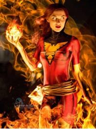 Dark Phoenix Costume X-Men Phoenix Cosplay Costume