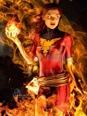 Dark Phoenix Costume X-Men Jean Grey Cosplay Costume