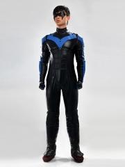 Batman Arkham City Nightwing Superhero Cosplay Costume