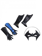 Batman Arkham City Nightwing Superhero Cosplay Costume