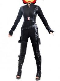 Captain America 2 Black Widow Movie Superhero Cosplay Costume