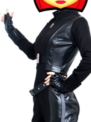 Captain America 2 Black Widow Movie Superhero Cosplay Costume