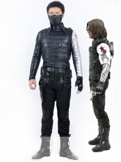 Captain America 2 Winter Soldier Bucky James Buchanan Barnes Costume