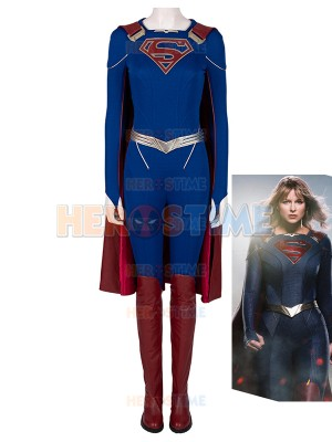 Supergirl Costume Supergirl Season 5 Kara Zor-El Superhero Cosplay Full Se