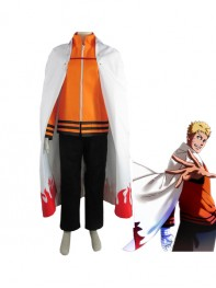 Naruto The movie The last-Uzumaki Naruto Seventh Hokage Anime Cosplay Costume