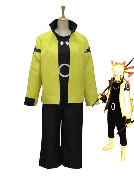 naruto uzumaki naruto nine tails bijuu mode 3rd cosplay costume