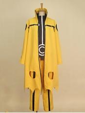 Uzumaki Naruto Uzumaki Nine-Tails Bijuu Mode Cosplay Costume