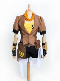 RWBY Yellow Trailer Yang Xiao Game Character Cosplay Costume