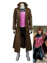 2016 New Style Gambit X-men Superhero Cosplay Costume