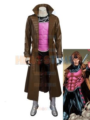 2016 New Style Gambit X-men Superhero Cosplay Costume