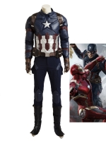 2016 New Ultimate Captain America Civil War Cosplay Costume