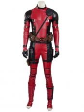 2017 Deluxe Deadpool Superhero Cosplay Costume