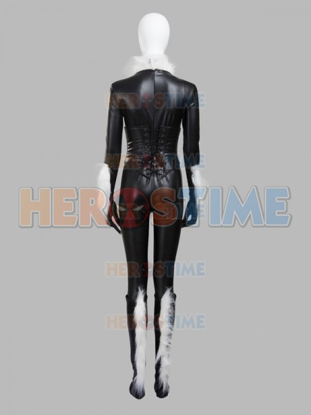 Amazing Spider Man Black Cat Felicia Hardy Cosplay Costume