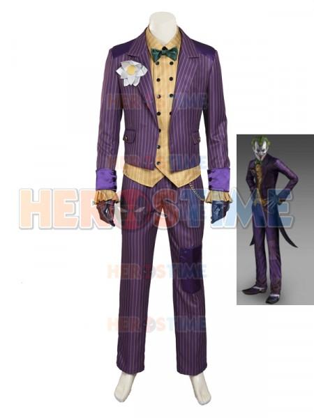 sc 1 st  Herostime.com & Batman Arkham City Supervillain Joker Cosplay Costume
