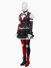 Batman: Arkham Knight Harley Quinn Female Supervillain Cosplay Costume