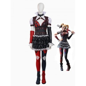 711b399cde68 Batman  Arkham Knight Harley Quinn Female Supervillain Cosplay Costume