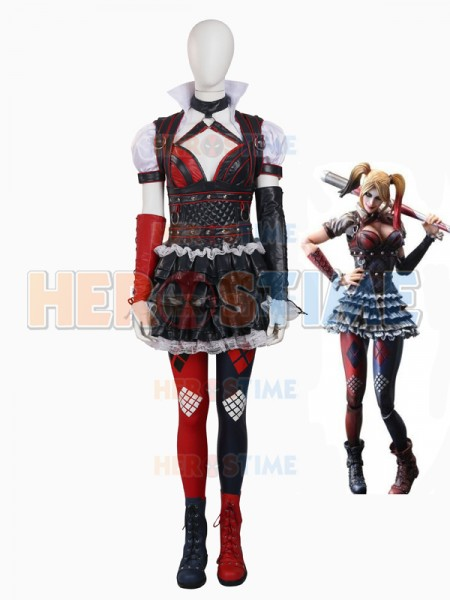 sc 1 st  Herostime.com & Batman: Arkham Knight Harley Quinn Female Supervillain Cosplay Costume